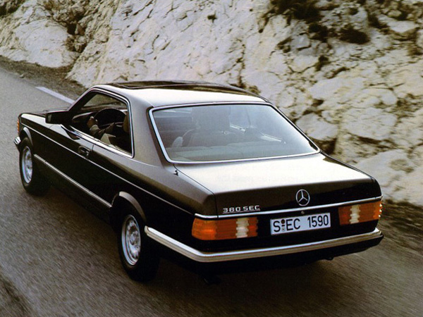 Mercedes S-class Coupe  C126